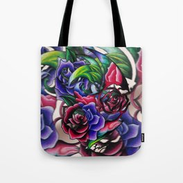 Roses Roses Roses Tote Bag