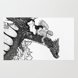 Dragonborn kids Rug