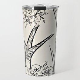 mandala tree 2 Travel Mug