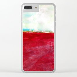 Journey No.600i by Kathy Morton Stanion Clear iPhone Case