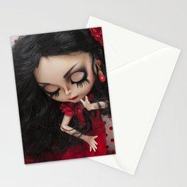 Lola Flores Blythe doll by Erregiro Stationery Cards