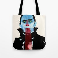 vampire Tote Bags featuring Vampire by Alvaro Tapia Hidalgo