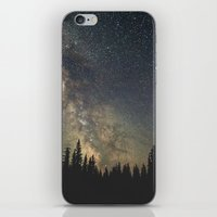 milky way iPhone & iPod Skins featuring Milky Way by Luke Gram