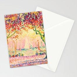 Paul Signac - Les Allées, Cannes - Colorful Vintage Fine Art Stationery Cards