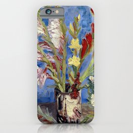 Gladioli iPhone Case