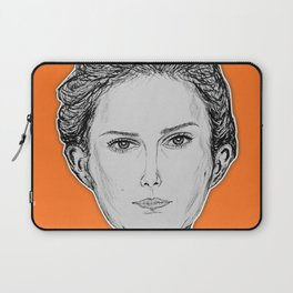 (The Most Beautiful Woman - Natalie Portman) - yks by ofs珊 Laptop Sleeve