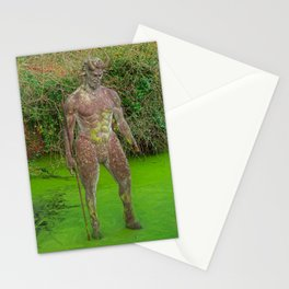 Jersey Satyr Statue Stationery Cards