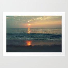 Nags Head, NC Sunrise Art Print