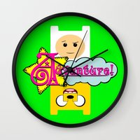 adventure Wall Clocks featuring Adventure! by Silvio Ledbetter