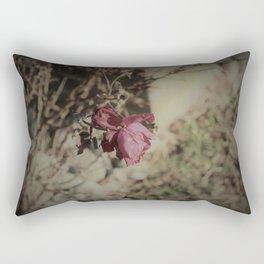 December Rose Rectangular Pillow