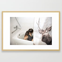 Diary of a Stalker Framed Art Print