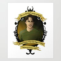 buffy the vampire slayer Art Prints featuring Xander - Buffy the Vampire Slayer by muin+staers