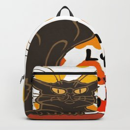 Le Chat Damour De Rodolphe Salis Valentine Cat Backpack