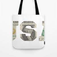 the national Tote Bags featuring National Anthem by anthonykun