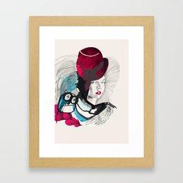 jokergirl Framed Art Print
