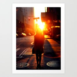 Sun Filled Dreams  Art Print