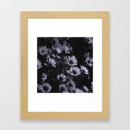 Flowers everywhere Framed Art Print