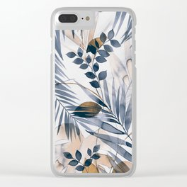 LEAVES - 21118/2 Clear iPhone Case