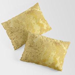 golden vintage Pillow Sham