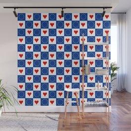 Flag of Europe 6  european, flag, european's flag, blue, star, yellow, EU, European union Wall Mural