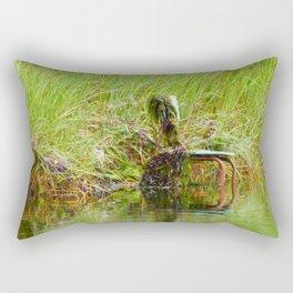 Swamp Chair Rectangular Pillow