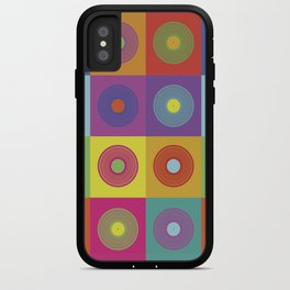Vinyl Pop Art iPhone Case