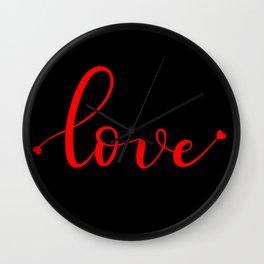 Simply Love Wall Clock