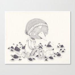 Géant Canvas Print