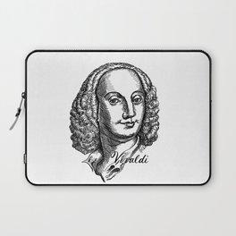 Antonio Vivaldi portrait Laptop Sleeve