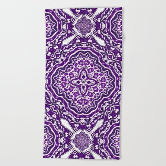 Purple Haze Beach Towel