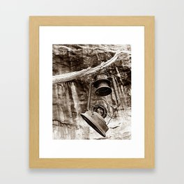 Worn Out Framed Art Print