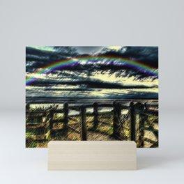 Last of the Summer Rainbows Landscape by Jeanpaul Ferro Mini Art Print