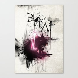 Black Rat Canvas Print