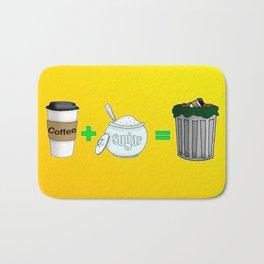 Coffee Math Bath Mat