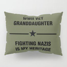 WWII Granddaughter Heritage Pillow Sham