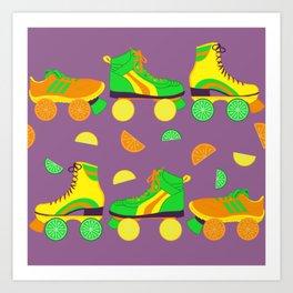 Fruit Roll Art Print