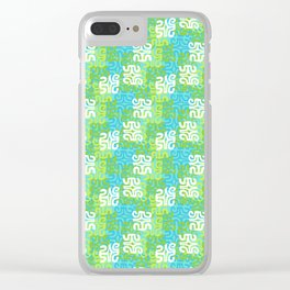 Swanky Mo Tropical Clear iPhone Case