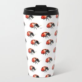 The LadyBug Metal Travel Mug