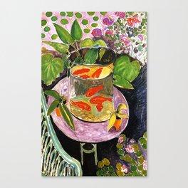 Henri Matisse Goldfish 1911 Canvas Print