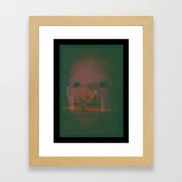 Baby in Hell Framed Art Print