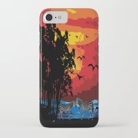 safari iPhone & iPod Cases featuring Safari  by Cindys