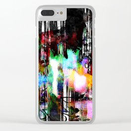 abstratown Clear iPhone Case