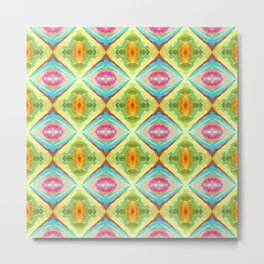 94 - colour abstract pattern Metal Print
