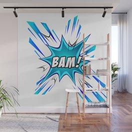 Manga Sound Effect - BAM! Wall Mural