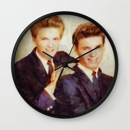 The Everly Brothers, Music Legends Wall Clock