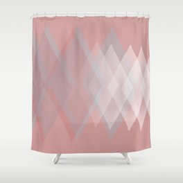 Pink Pastels  Shower Curtain