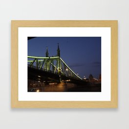 Green Bridge Framed Art Print