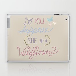 Are you a Wildflower? Laptop & iPad Skin