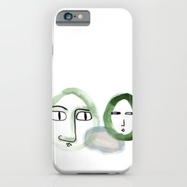 """""""Paper Drawings/Paintings"""" The Wondering and The Lurking iPhone Case"""