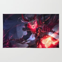Blood Moon Thresh League Of Legends Rug